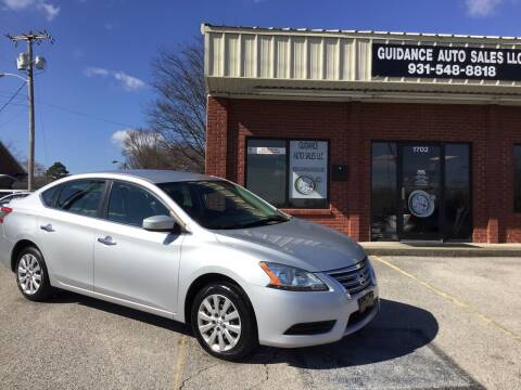 2015 Nissan Sentra for sale at Guidance Auto Sales LLC in Columbia TN