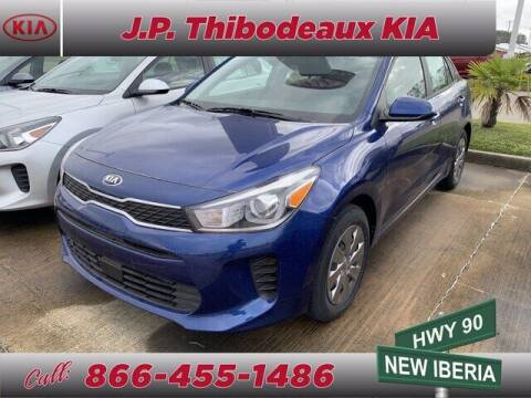 2020 Kia Rio for sale at J P Thibodeaux Used Cars in New Iberia LA