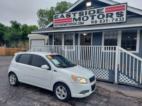 2011 Chevrolet Aveo for sale at EASTSIDE MOTORS in Tulsa OK