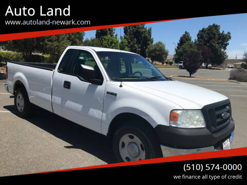 2005 Ford F-150 for sale at Auto Land in Newark CA
