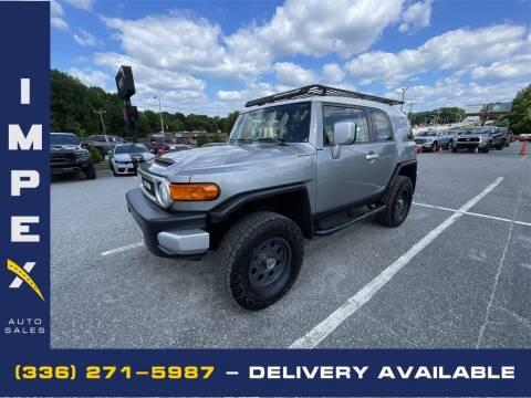2009 Toyota FJ Cruiser for sale at Impex Auto Sales in Greensboro NC
