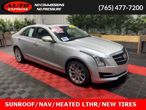 2017 Cadillac ATS for sale at Auto Express in Lafayette IN