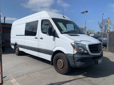 2017 Mercedes-Benz Sprinter Crew for sale at Best Buy Quality Cars in Bellflower CA