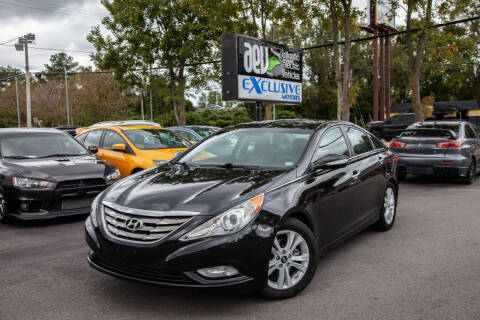 2011 Hyundai Sonata for sale at EXCLUSIVE MOTORS in Virginia Beach VA