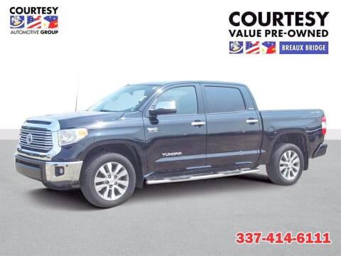 2017 Toyota Tundra for sale at CourtesyValueBB.com in Breaux Bridge LA