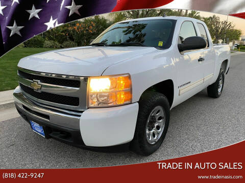 2009 Chevrolet Silverado 1500 for sale at Trade In Auto Sales in Van Nuys CA