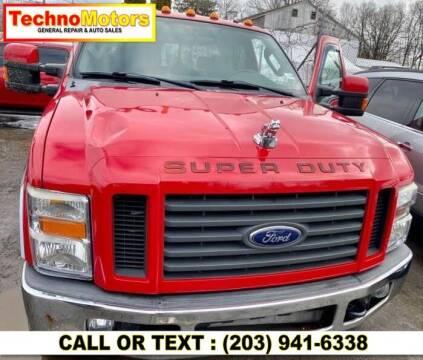2008 Ford F-350 Super Duty for sale at Techno Motors in Danbury CT