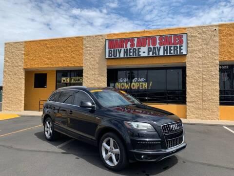 2012 Audi Q7 for sale at Marys Auto Sales in Phoenix AZ