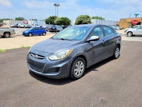 2013 Hyundai Accent for sale at Image Auto Sales in Dallas TX