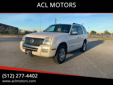 2010 Mercury Mountaineer for sale at ACL MOTORS in Austin TX