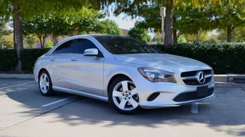 2018 Mercedes-Benz CLA for sale at Legacy Autos in Dallas TX