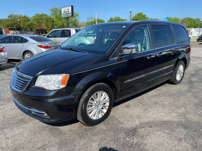 2013 Chrysler Town and Country for sale at BWK of Columbia in Columbia SC