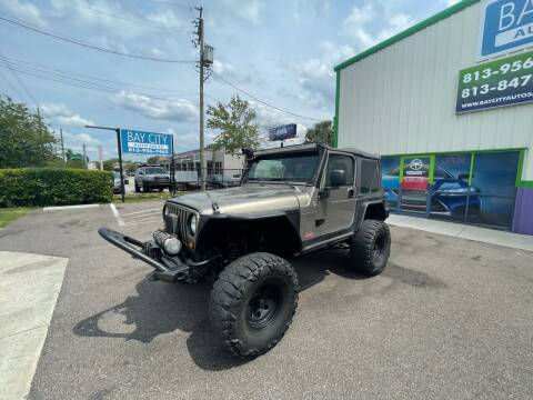 2006 Jeep Wrangler for sale at Bay City Autosales in Tampa FL
