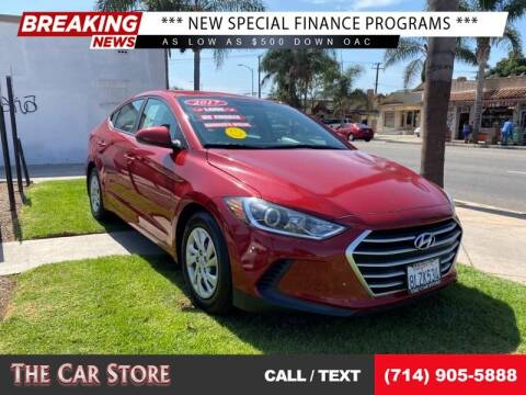 2017 Hyundai Elantra for sale at The Car Store in Santa Ana CA