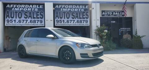 2016 Volkswagen Golf for sale at Affordable Imports Auto Sales in Murrieta CA