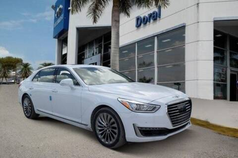 2019 Genesis G90 for sale at DORAL HYUNDAI in Doral FL