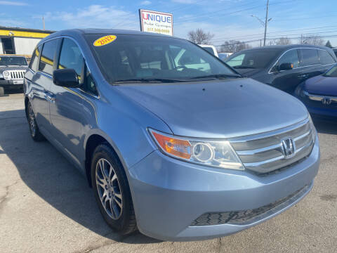 2012 Honda Odyssey for sale at Unique Auto Group in Indianapolis IN