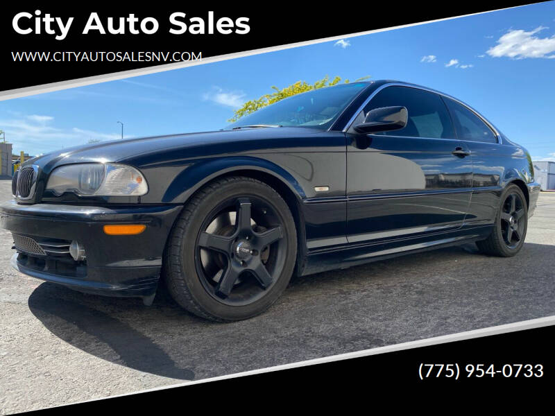 2002 BMW 3 Series for sale at City Auto Sales in Sparks NV