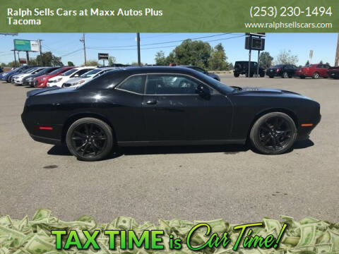 2017 Dodge Challenger for sale at Ralph Sells Cars at Maxx Autos Plus Tacoma in Tacoma WA