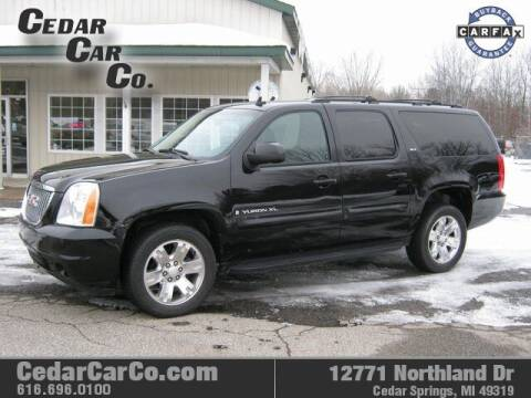 2009 GMC Yukon XL for sale at Cedar Car Co in Cedar Springs MI
