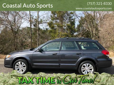 2008 Subaru Outback for sale at Coastal Auto Sports in Chesapeake VA