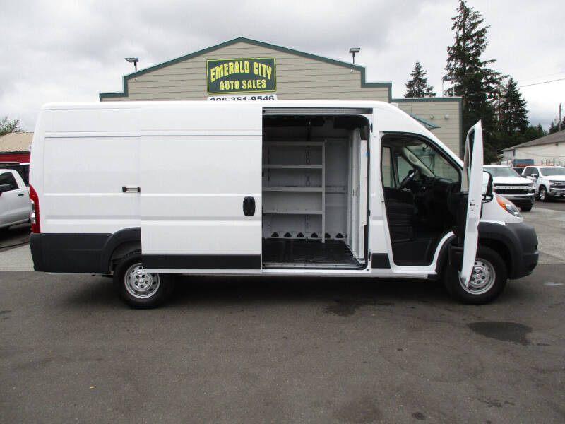 2017 RAM ProMaster Cargo for sale at Emerald City Auto Inc in Seattle WA