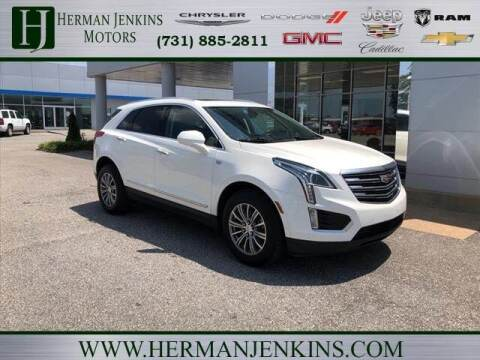 2017 Cadillac XT5 for sale at Herman Jenkins Used Cars in Union City TN
