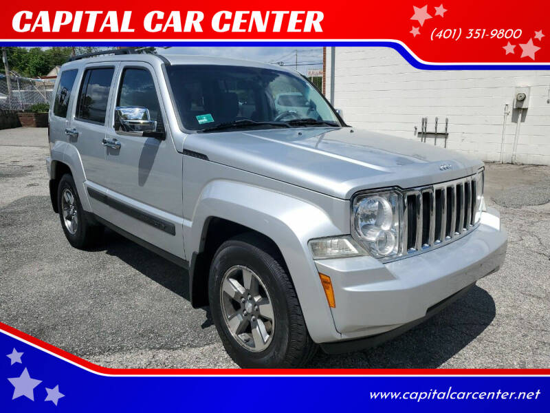 2008 Jeep Liberty for sale at CAPITAL CAR CENTER in Providence RI