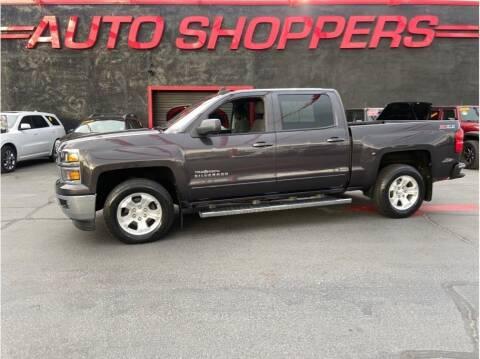 2015 Chevrolet Silverado 1500 for sale at AUTO SHOPPERS LLC in Yakima WA