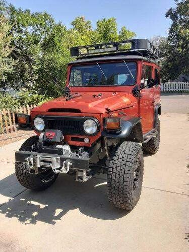 1971 Toyota Land Cruiser for sale in Cadillac, MI