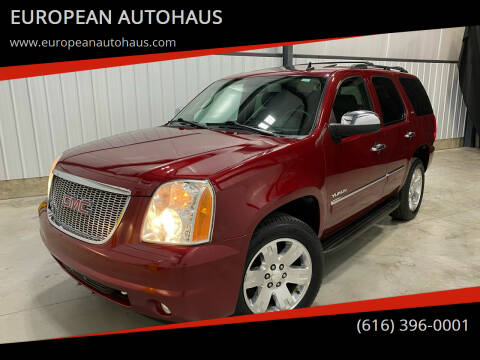 2011 GMC Yukon for sale at EUROPEAN AUTOHAUS in Holland MI