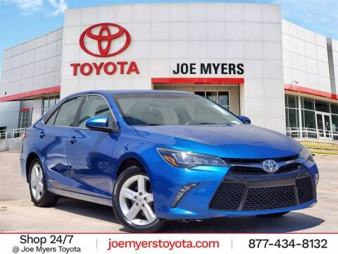2017 Toyota Camry for sale at Joe Myers Toyota PreOwned in Houston TX