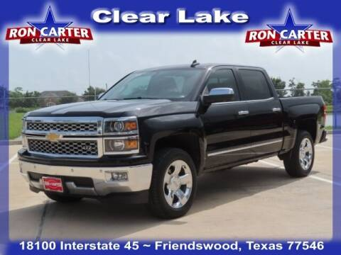 2015 Chevrolet Silverado 1500 for sale at Ron Carter  Clear Lake Used Cars in Houston TX