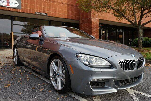2015 BMW 6 Series for sale at Team One Motorcars, LLC in Marietta GA