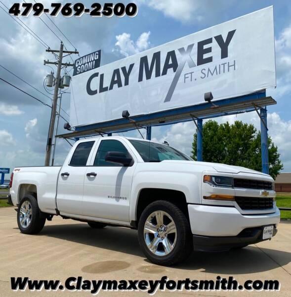 2018 Chevrolet Silverado 1500 for sale at Clay Maxey NWA in Springdale AR