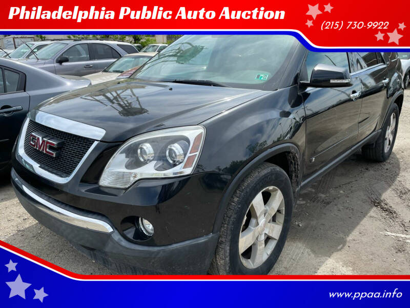 2010 GMC Acadia for sale at Philadelphia Public Auto Auction in Philadelphia PA