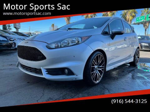 2014 Ford Fiesta for sale at Motor Sports Sac in Sacramento CA