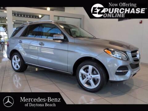 2016 Mercedes-Benz GLE for sale at Mercedes-Benz of Daytona Beach in Daytona Beach FL