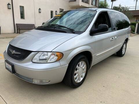 2001 Chrysler Town and Country for sale at Select Auto Wholesales in Glendora CA