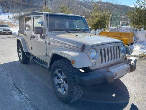 2016 Jeep Wrangler Unlimited for sale at Hawkins Chevrolet in Danville PA