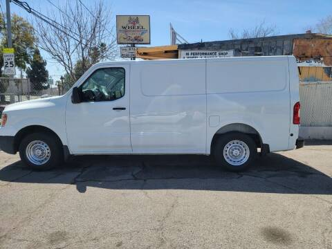 2014 Nissan NV Cargo for sale at Shick Automotive Inc in North Hills CA
