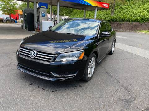 2013 Volkswagen Passat for sale at Exotic Automotive Group in Jersey City NJ