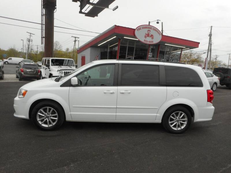 2015 Dodge Grand Caravan for sale at The Carriage Company in Lancaster OH