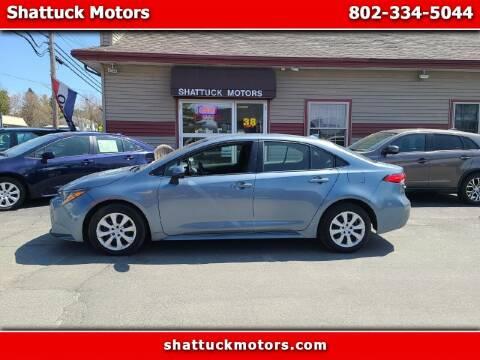 2020 Toyota Corolla for sale at Shattuck Motors - NEKtrucks.com in Newport VT