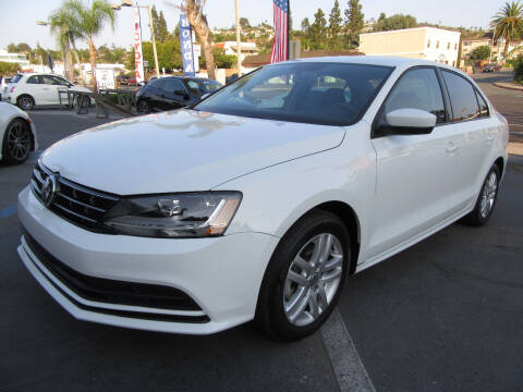 2018 Volkswagen Jetta for sale at Eagle Auto in La Mesa CA