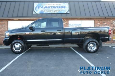 2007 Dodge Ram Pickup 3500 for sale at Platinum Auto World in Fredericksburg VA