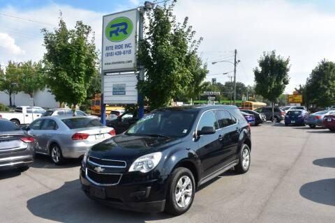 2014 Chevrolet Equinox for sale at Rite Ride Inc in Murfreesboro TN