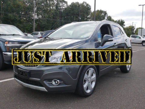 2016 Buick Encore for sale at BRYNER CHEVROLET in Jenkintown PA
