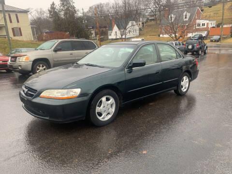 1999 Honda Accord for sale at KP'S Cars in Staunton VA