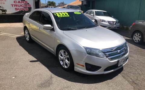 2012 Ford Fusion for sale at Ohana Auto Sales in Wailuku HI